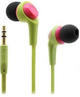 Наушники HF MP3 iRiver Blank SC-10 Mic Green