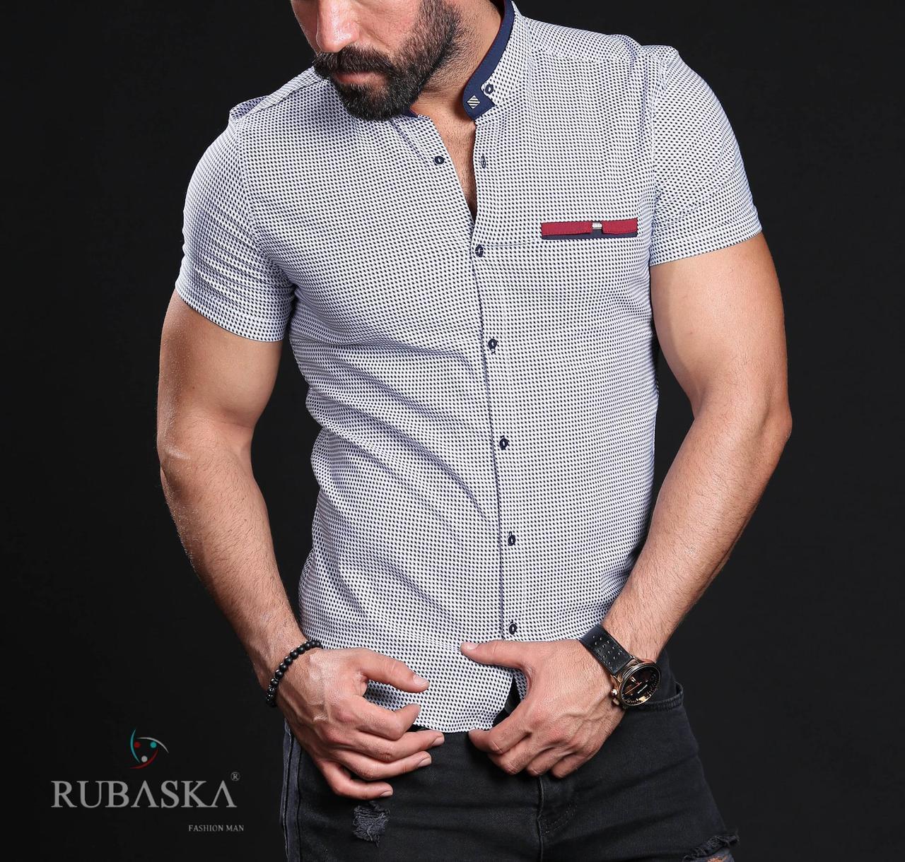 39e2ebcf4f05f33 Летняя рубашка мужская в клетку, цена 430 грн., купить в Запорожье ...