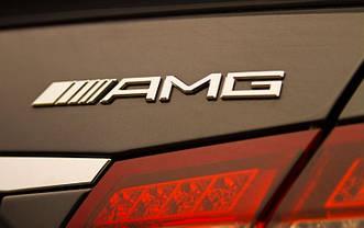 Эмблема шильдик значок Mercedes AMG (метал)
