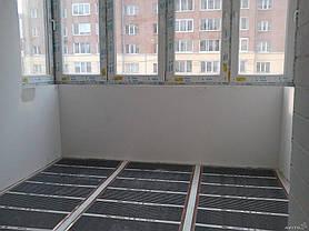 Отопление инфракрасной пленкой балкон.