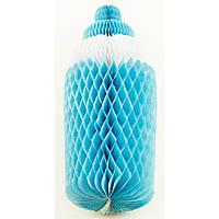 Подвеска соска из бумаги (голубая) 150417-035