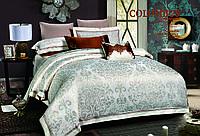 Евро комплект постельного белья J-0016 (сатин-жаккард) Bella Villa