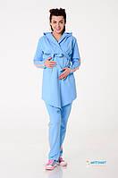 Кардиган для беременных Color Energy голубой