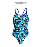 Сдельный купальник для девочек Funkita Blue Steel FS11, фото 1