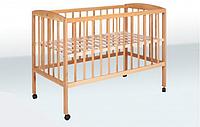 Кровать детская на колесах бук