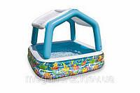 Детский надувной бассейн Intex 57470 с крышей