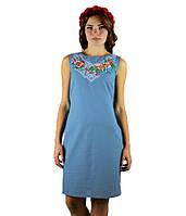 Святкова вишита сукня. Сарафан вишитий жіночий. Вишиванки жіночі. Сукні в українському стилі.