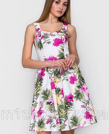 Платье цветочный принт | Goldy sk, фото 2