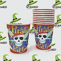 Бумажные стаканчики Пираты (уп. 10шт)