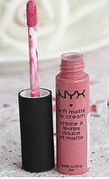 Помада жидкая NYX soft matte Lip Cream № 11