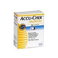 Ланцеты Accu-Chek Multiclix 24 штуки