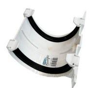 Соединитель желоба водосточной системы Хантер (Hunter) Браво 125 мм белый