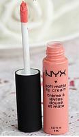 Помада жидкая NYX soft matte Lip Cream № 12