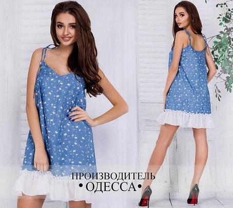 Платье джинсовое , фото 2