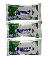 Влажные салфетки Bravo+ ледяная мята
