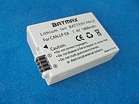 CANON LP-E8 BATMAX аккумулятор 1800mAh для 550D 600D 650D 700D Rebel T2i T3i T4i Kiss X4 X5 X6i