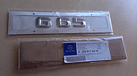 Эмблема шильдик значок G65 AMG (пластик)