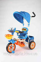 Детский трехколесный велосипед G-Car Panda Blue