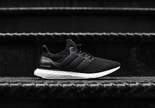 Мужские кроссовки Adidas Ultra Boost 3.0 LTD Black BA8924, Адидас Ультра Буст, фото 2