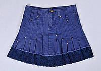 Детская юбка джинсовая, фото 1