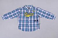 Рубашка в клетку для мальчика, фото 1
