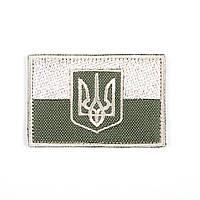 "Нашивка, патч ""Прапор України з гербом"""