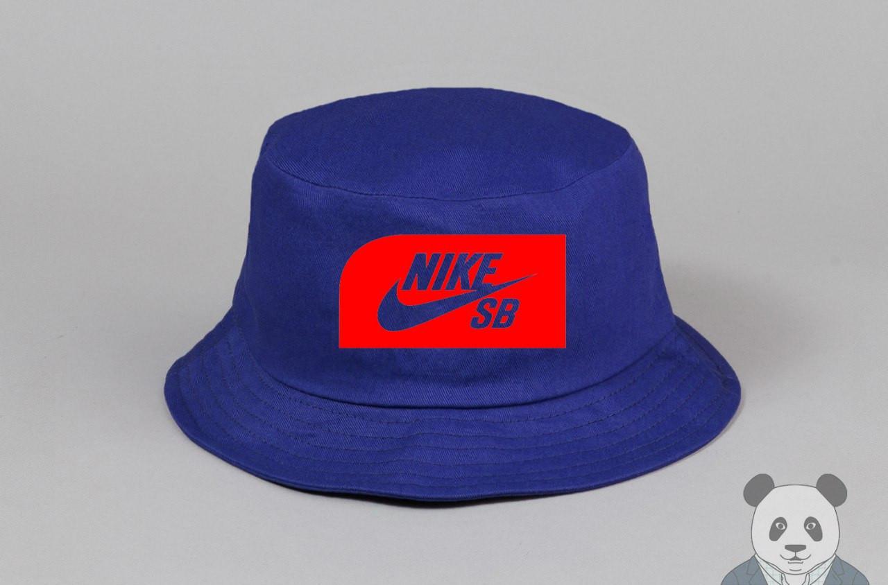 Синяя панамка найк,Nike