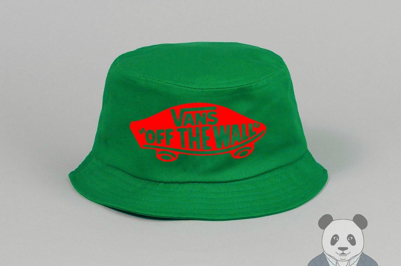 Панамка Vans зеленая