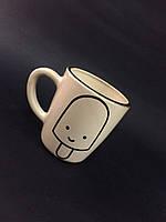 Чашка чай, кофе-капучино мороженное