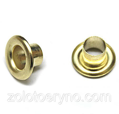 Блочка золото D8мм (1000шт.)