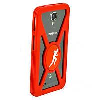 Чехол-накладка Бампер универсальный SPORT - 3 (Red)
