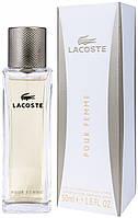 Lacoste pour Femme EDP 50 ml  парфумированная вода женская (оригинал подлинник  Великобритания)