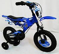 Велосипед детский 12 дюймов YUANDA YD-01 цвет синий