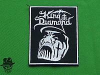 King Diamond- велика вишита нашивка
