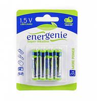 Щелочная батарейка lr03/aaa energenie eg-lr03-4bl (цена за 1 шт. в упаковке 4 шт)
