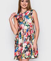 Яркое платье без рукавов (2247 sk)