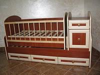 Детская кроватка трансформер №2