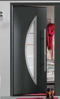 Входные двери Thermo65 Hormann с остеклением (Германия)
