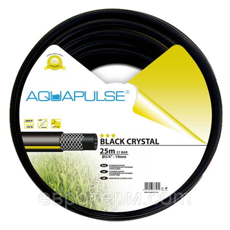 Шланг для полива Aquapulse Black Crystal 1/2 20 м