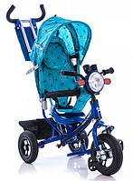 Велосипед трехколесный Лексус BC-17B Air фара синий