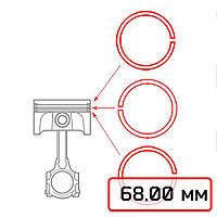 Кольцо поршневое Вихрь-25 2Р (68,00)