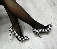 """Туфли - лодочки женские двухцветные под""""Шанель"""""""
