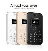 Aiek x8 - ультратонкий мобильный телефон кредитная карточка