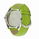"""Часы наручные """"Пальмовые листья"""" зеленые, фото 2"""