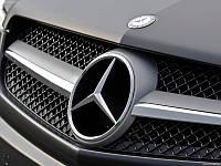Эмблема значок звезда Mercedes 185 мм (оригинал)