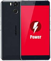 "UleFone Power black (dark blue) 3/16 Gb, 5.5"", MT6753, 3G, 4G"