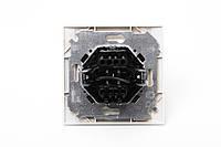 Выключатель проходной двойной Simon 34 кремовый, фото 1