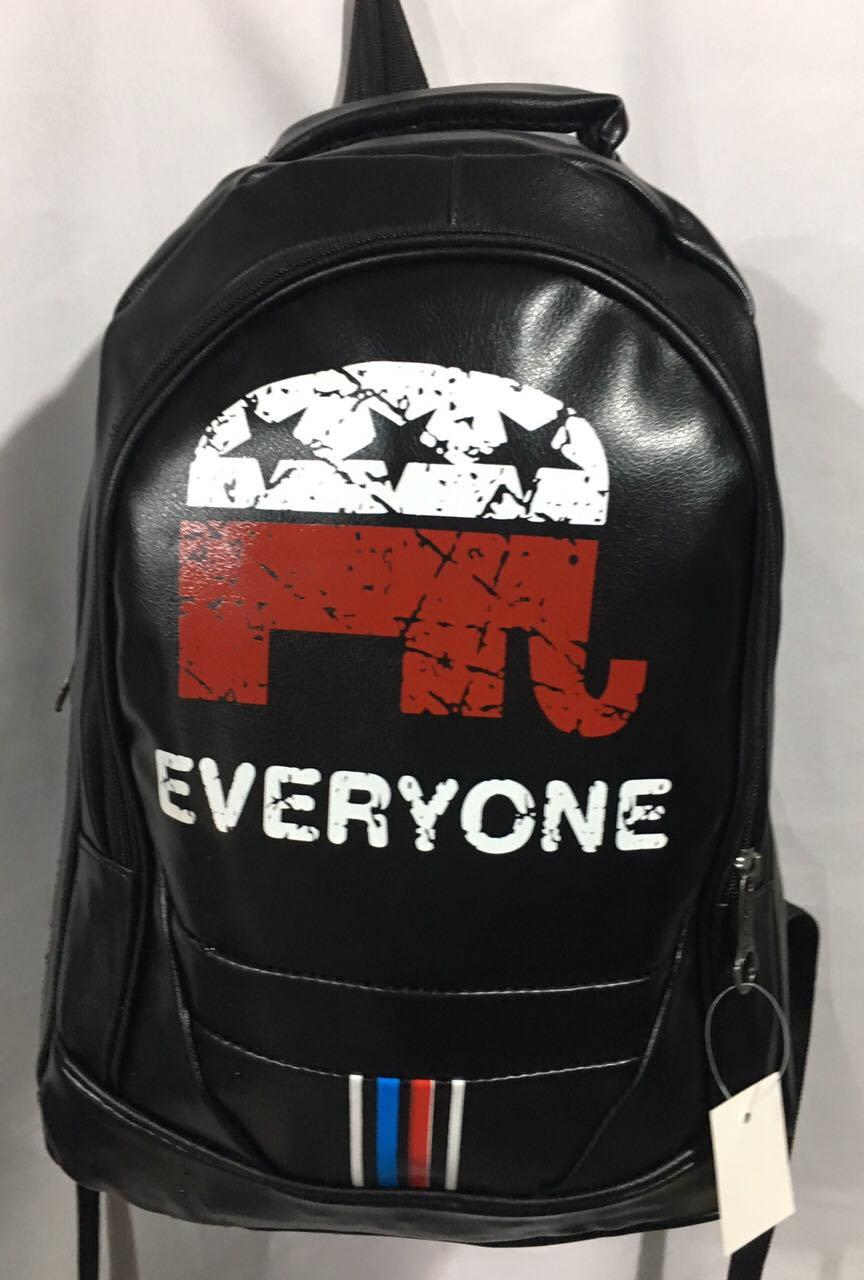 Школьный кожаный рюкзак для мальчика (44х31)