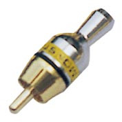 Шт RCA метал (на тонкий кабель) (VK10166)