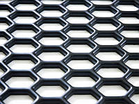 Пластиковая сетка решетка для тюнинга 140 X 60 см